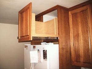 Kitchen Cabinets Over Refrigerator Design Ideas